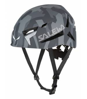 Salewa Vega Helmet grey camo prilba