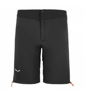 Salewa Ortles Tirolwool Responsive Stretch Shorts MS Black out kraťasy