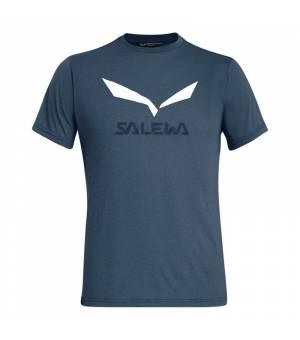 Salewa Solidlogo Drirelease M T-shirt premium navy melange tričko