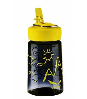 Salewa Runner Kids Bottle fľaša 0,35 L čierna