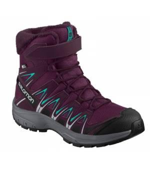 Salomon XA PRO 3D Winter TS CSWP J Dark / Purple