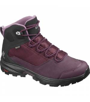 Salomon Outward GTX W Wine Tasting/Black