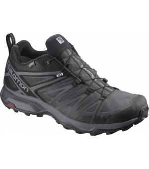 Salomon X Ultra 3 Wide GTX Black/Magnet/Quiet