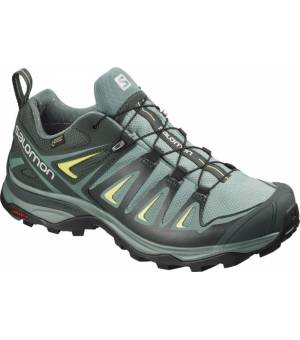 Salomon X Ultra 3 Wide GTX W Arctic/Darkest Spruce