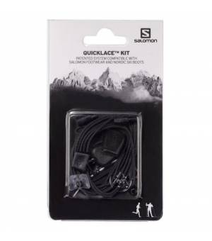 Salomon Quicklace Kit black šnúrky
