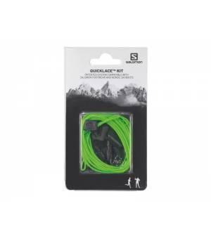 Salomon Quicklace Kit šnúrky do topánok zelená