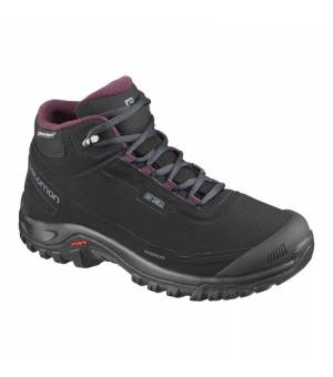 Salomon Shelter CS WP W black/ebony/winetasting