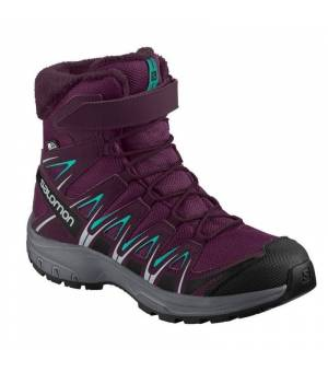 Salomon XA PRO 3D Winter TS CSWP Jr Dark/Purple