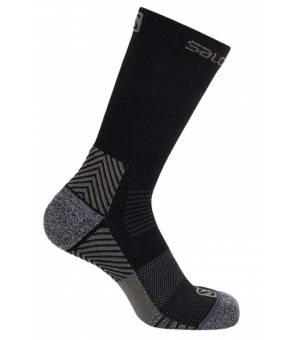 Salomon Outward JR Black/Ebony ponožky