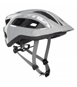 Scott Supra Grey cyklistická prilba 54-58 cm 2021