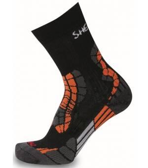 Sherpax-Apasox Castor-Chamlang ponožky čierne