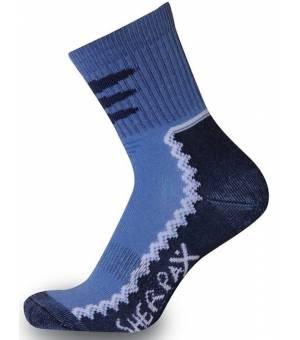 Sherpax Laudo light Jrs ponožky modré