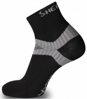 Sherpax Lhotse ponožky čierne