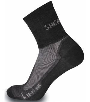 Sherpax Solo ponožky sivé