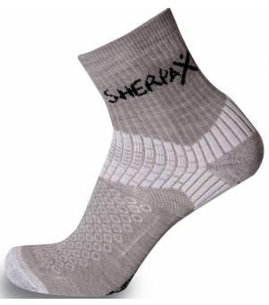 Sherpax-Apasox Misti-Chani ponožky sivé