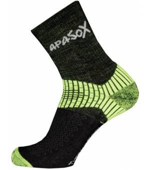 Sherpax-Apasox Misti-Chani ponožky zelené