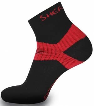 Sherpax Lhotse ponožky červené
