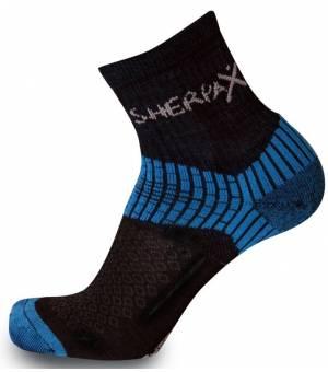 Sherpax-Apasox Misti-Chani ponožky čierno/modré