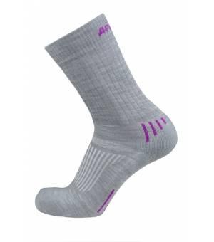 Sherpax Apasox Kazbek Juncal ponožky sivé