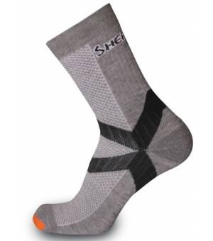 Sherpax Kupol ponožky šedé