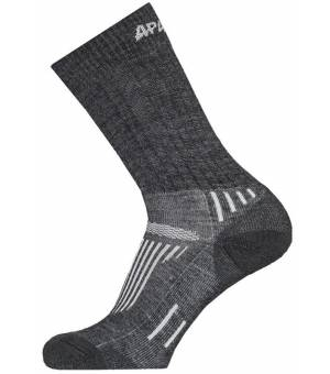 Sherpax Apasox Kazbek Juncal ponožky šedé
