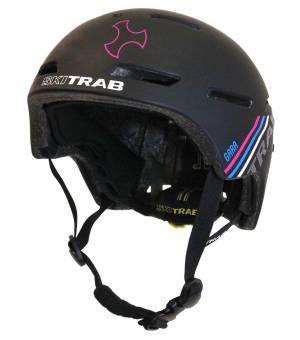 Skitrab Gara 2 Helmet black/fuchsia 20/21