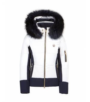 Sportalm Sudbury M.Kap W Ski Jacket Optical White bunda