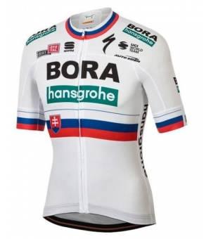 Sportful Bora-hansgrohe cyklistický dres majster Slovenska