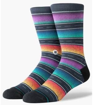 Stance Sierras Black Ponožky Čierne