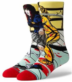 Stance The Bride And Gogo Purple Ponožky Kill Bill