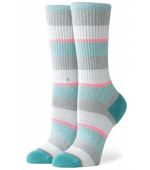 Stance All That Crew Grey Ponožky Sivé