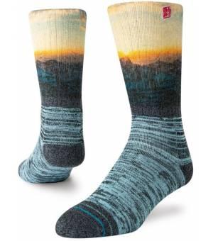 Stance Coming Home Outdoor Black Ponožky Čierne