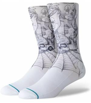 Stance Toonz White Ponožky Biele