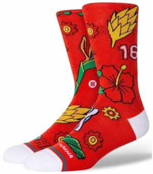 Stance Kolten Ponožky Červené