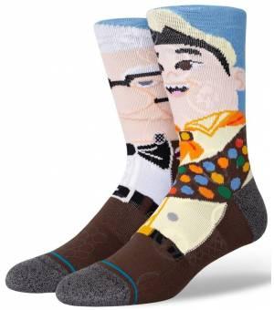 Stance Wilderness Explorer Ponožky Hnedé