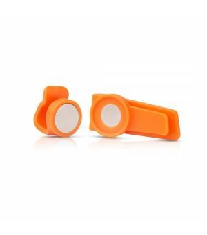 Source Magnetic Clip Kit orange spona