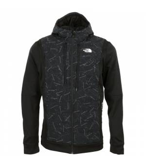 The North Face Train N Logo Hybrid Insulated M Jacket black bunda