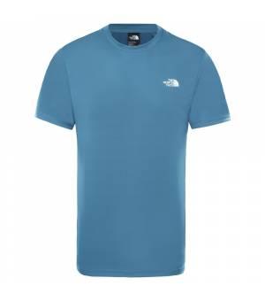 The North Face Train N Logo Hybrid M Tee mallard blue tričko