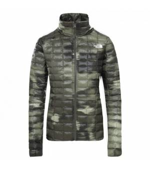 The North Face ThermoBall Eco W Jacket new taupe/green vapor/ ikat print bunda