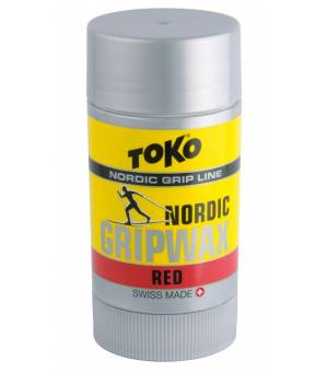 Toko Nordic Grip Wax Red 25 g vosk na lyže