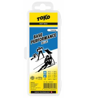 Toko Eco Base Performance Hot Wax Blue lyžiarsky vosk 120 g