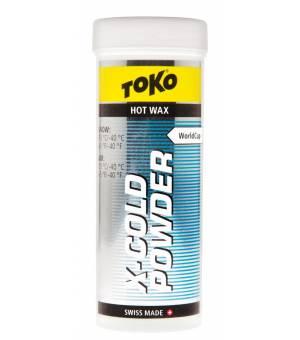 Toko X-Cold Powder práškový lyžiarsky vosk 50 g