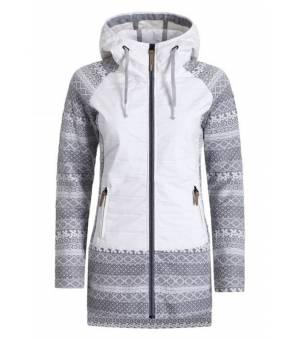 Torstai Chamonix W Jacket Wihte / Print Grey mikina