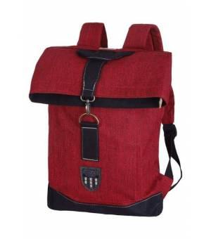 Torstai Backpack Miyako Melange Red batoh