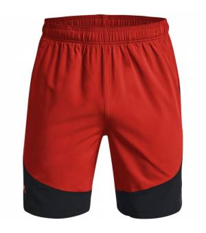 Under Armour HIIT Woven Colorblock M Shorts Radiant Red/Black kraťasy