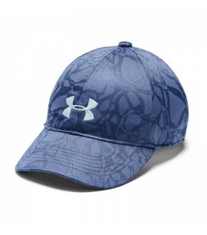 Under Armour Girl´s Play Up Cap Printed Blue šiltovka