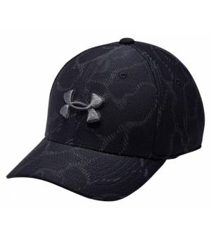 Under Armour K-Kappe Boy´s Printed Black šiltovka