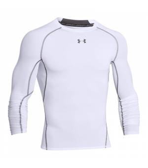 Under Armour L/S Heatgear White tričko