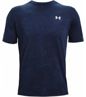 Under Armour Train Vent T-Shirt Black Blue tričko