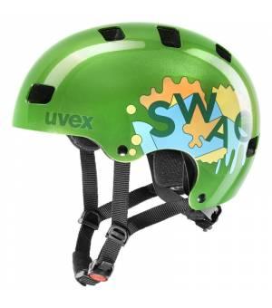Uvex C Kid 3 Green 55-58cm cyklistická prilba 2020